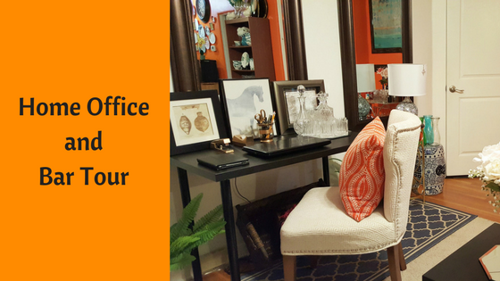 Home Office And Bar Tour