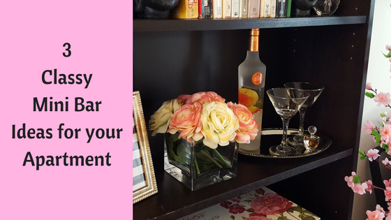 3 Classy Mini Bar Ideas for your Apartment