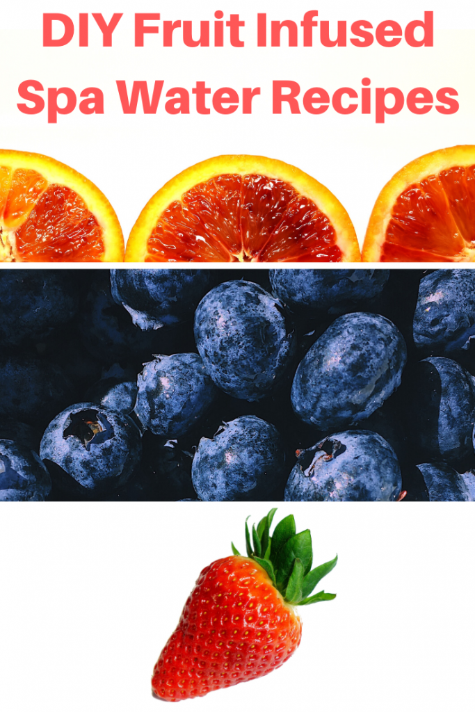 fruit infused spa water recipes