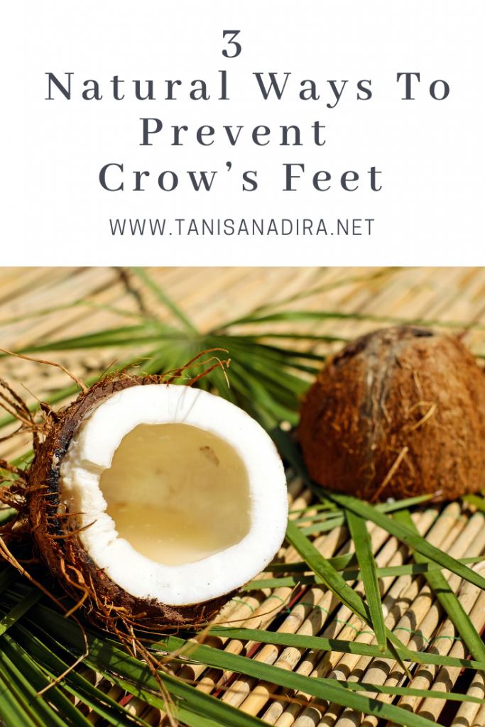 prevent crow's feet